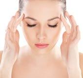 czyścić zdrową skórę Obraz Royalty Free
