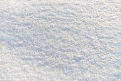Czyści Śnieżnobiałego śnieżnego tło Zdjęcie Stock