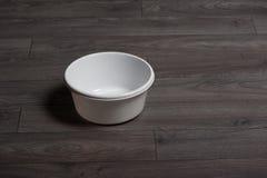 Czyści białego washbowl Obraz Royalty Free