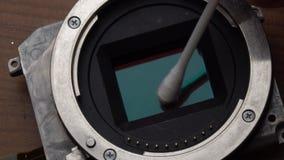 Czyści kamery czujnik zbiory wideo