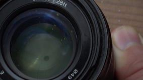 Czyści kamery obiektyw zbiory