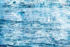 Czyści lodowej wody abstrakta teksturę Zdjęcie Stock