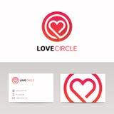 Czyści medyczną zdrowie znaka hearth loga wektoru ikonę Obrazy Royalty Free