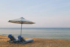 Czyści piaskowatą plażę Zdjęcia Stock