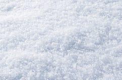 Czyści puszystą śnieg powierzchnię Zdjęcia Stock