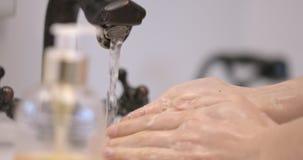 Czyści ręki mydłem zbiory