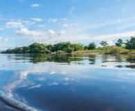 Czyści rzekę w Chapada Diameantina, Bahia, Brazylia fotografia royalty free