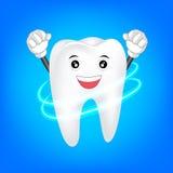 Czyści zębu charakteru Obrazy Stock