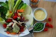 Czyści jedzenie dla diety i zdrowy Obraz Royalty Free