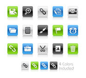 czyścić ikon interfejsu serie Obrazy Stock