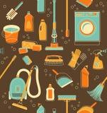 Czyści narzędzia bezszwowy tło Obrazy Stock
