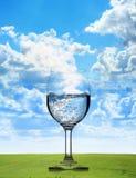 Czysta świeża woda Fotografia Stock