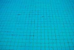 Czysta błękitne wody w pływackim basenie tła koloru ilustraci wzoru bezszwowa wektoru woda Fotografia Stock