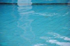 Czysta błękitne wody w pływackim basenie tła koloru ilustraci wzoru bezszwowa wektoru woda Obrazy Stock