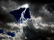 Czysta energia i elektryczność Symbolizuje władzę fotografia royalty free