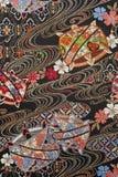 Czysta jedwabnicza tkanina obraz stock
