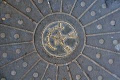 Manhole pokrywa Obrazy Stock