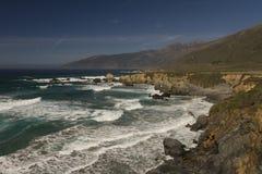 Czysta natura przy wybrzeżem Zdjęcia Royalty Free
