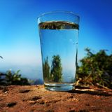 czysta woda Zdjęcie Stock