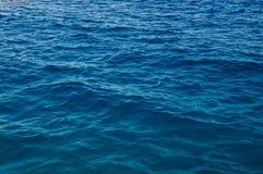 Czysta woda morska Zdjęcia Royalty Free