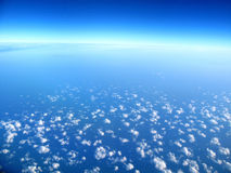 czyste niebo niebieskie Obrazy Royalty Free