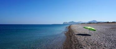 Czystej wody morze Fotografia Royalty Free