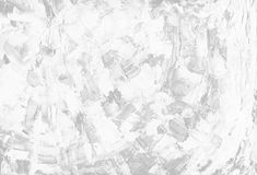 Czysty abstrakcjonistyczny tło od białej prostackiej brezentowej tekstury farba rozmazy Wizerunek z kopii przestrzenią obraz stock
