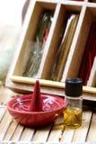 czysty błoto aromatyczny szyszkowy olej obrazy royalty free