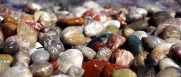 Czysty kamienny morze Zdjęcie Stock