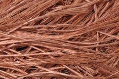 Czysty miedzianych drutów surowy materiał dla przemysłu obrazy stock