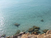 czysty sunset wody Fotografia Royalty Free