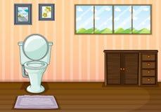 Czysty wygoda pokój royalty ilustracja