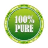 100 czysty znaczek Obrazy Stock