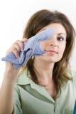 czyszczenie okien Obraz Stock