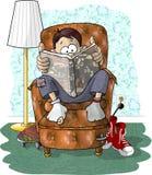czytałem interesujący royalty ilustracja