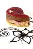 Czytający kropla tort zdjęcie royalty free