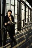 czytanie biznesmena Zdjęcie Royalty Free