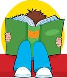 czytanie chłopca Obraz Royalty Free
