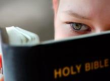 czytanie chłopca Obrazy Royalty Free