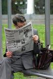 czytanie ludzi Obrazy Royalty Free