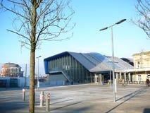 Czytelnicza stacja kolejowa Fotografia Royalty Free