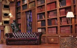 Czytelniczy rocznika pokój Obrazy Royalty Free