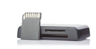 Czytnik kart Zdjęcia Stock