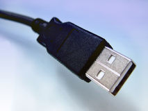 Câble d'Usb Photographie stock