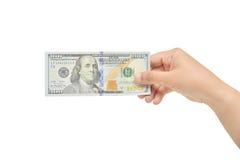 Dá o dólar Imagens de Stock Royalty Free