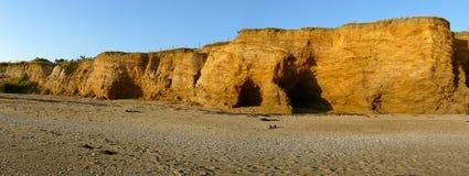 D'Or de шахты пляжа Франции Стоковое Изображение