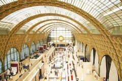 D'Orsay εσωτερικό μουσείων Στοκ Φωτογραφία