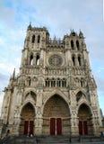 DÂ'Amiens de Notre Dame imagen de archivo libre de regalías