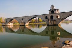 dâAvignon de Pont Imagenes de archivo