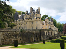 dâUsse di Château Fotografie Stock Libere da Diritti